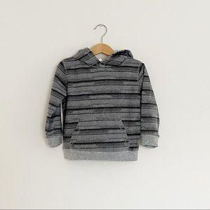 3T Kidgets Gray/Black Hooded Sweatshirt